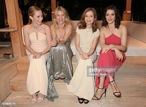 Emily Blunt Melanie Laurent Isabelle Huppert and Rachel Weisz attend as The IFP Calvin Klein Collection euphoria Calvin Klein Celebrate Women In Film...