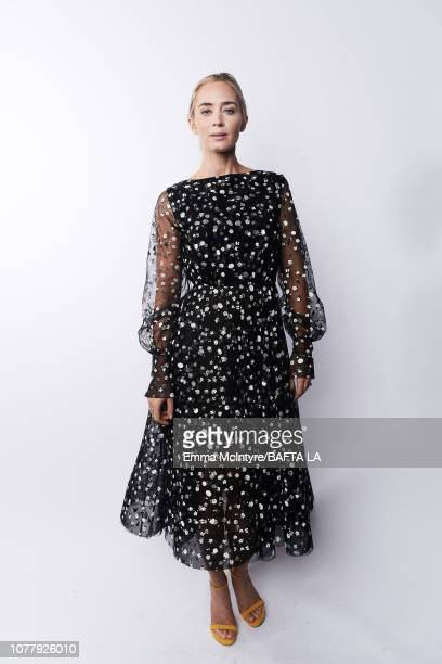 Emily Blunt poses for a portrait at The BAFTA Tea Party on January 5 2019 in Beverly Hills California