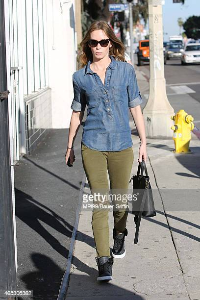 Emily Blunt seen on March 05 2015 in Los Angeles California