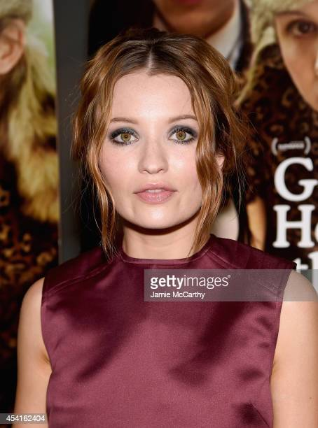 Emily Browning attends the God Help The Girl New York Special Screening at Nitehawk Cinema on August 25 2014 in New York City