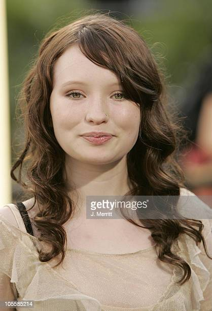Emily Browning during Lemony Snicket's A Series Of Unfortunate Events World Premiere Arrivals at Grauman's Chinese Theater in Hollywood California...