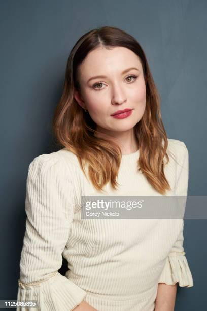Emily Browning of Starz 'American Gods' poses for a portrait at The Langham Huntington, Pasadena on February 12, 2019 in Pasadena, California.