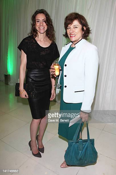Emily Bruni and Diana Quick attend the English National Ballet preperformance party to celebrate their new season honoring the legacy of Ballet...