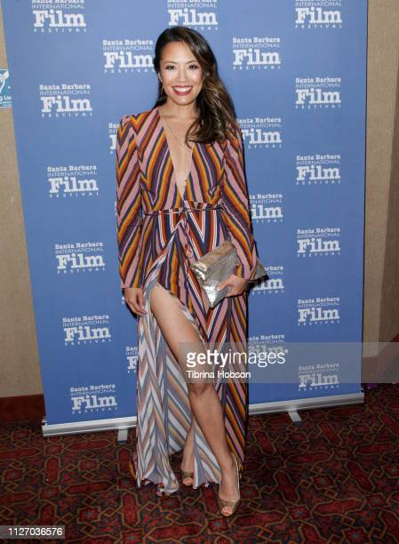 Emily C Chang attends the 34th annual Santa Barbara International Film Festival premiere of 'Babysplitters' at Metro 4 Theatres on February 02 2019...