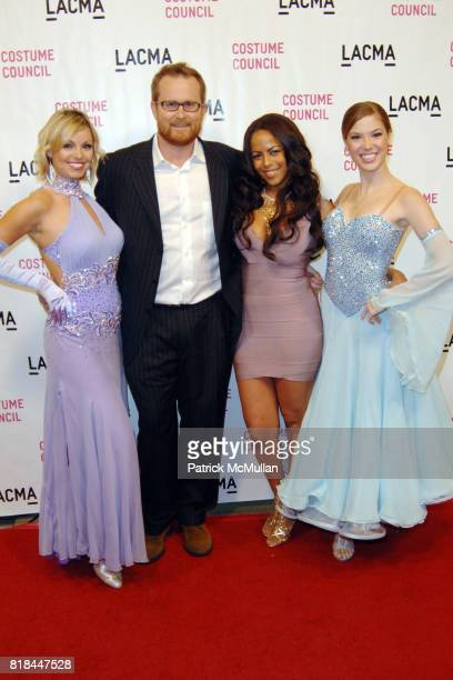 Emily Calhoun Jeff Beard Lena D' Amour and Nicole McDonald attend LACMA Dances with the Stars at Los Angeles County Museum of Art on January 13 2010...