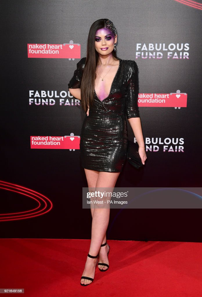 Emily Canham attending the Naked Heart Foundation Fabulous Fund Fair held at The Roundhouse in Chalk Farm, London.
