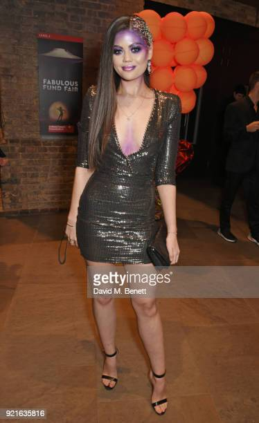 Emily Canham attends the Naked Heart Foundation's Fabulous Fund Fair at The Roundhouse on February 20 2018 in London England