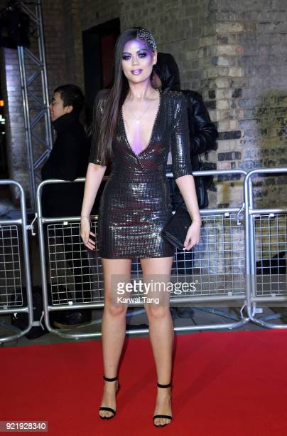 Emily Canham attends the Naked Heart Foundation's Fabulous Fund Fair during London Fashion Week February 2018 at the Roundhouse on February 20 2018...
