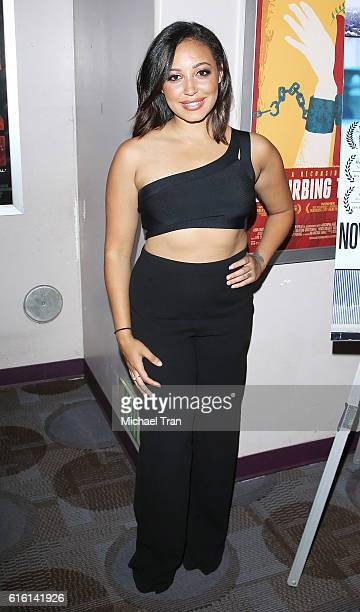 Emily Cheree attends the screening of Nowhereland held at Laemmle Music Hall on October 21 2016 in Beverly Hills California