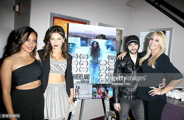 Emily Cheree Jessica Taylor Haid Felix Ryan and Robin Bain attend the screening of Nowhereland held at Laemmle Music Hall on October 21 2016 in...