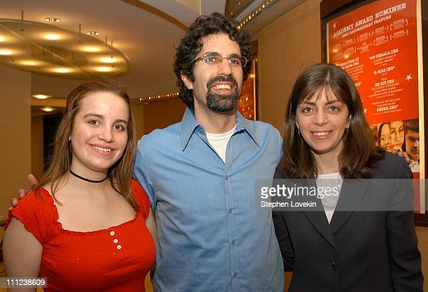 Emily Degideo from the film with the film's Director Jeff Blitz and Nancy Abraham of HBO