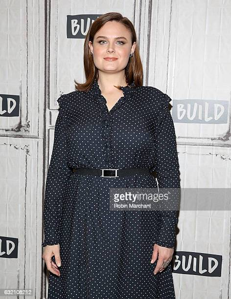 Emily Deschanel attends Build Series Presents Bones at Build Studio on January 19 2017 in New York City