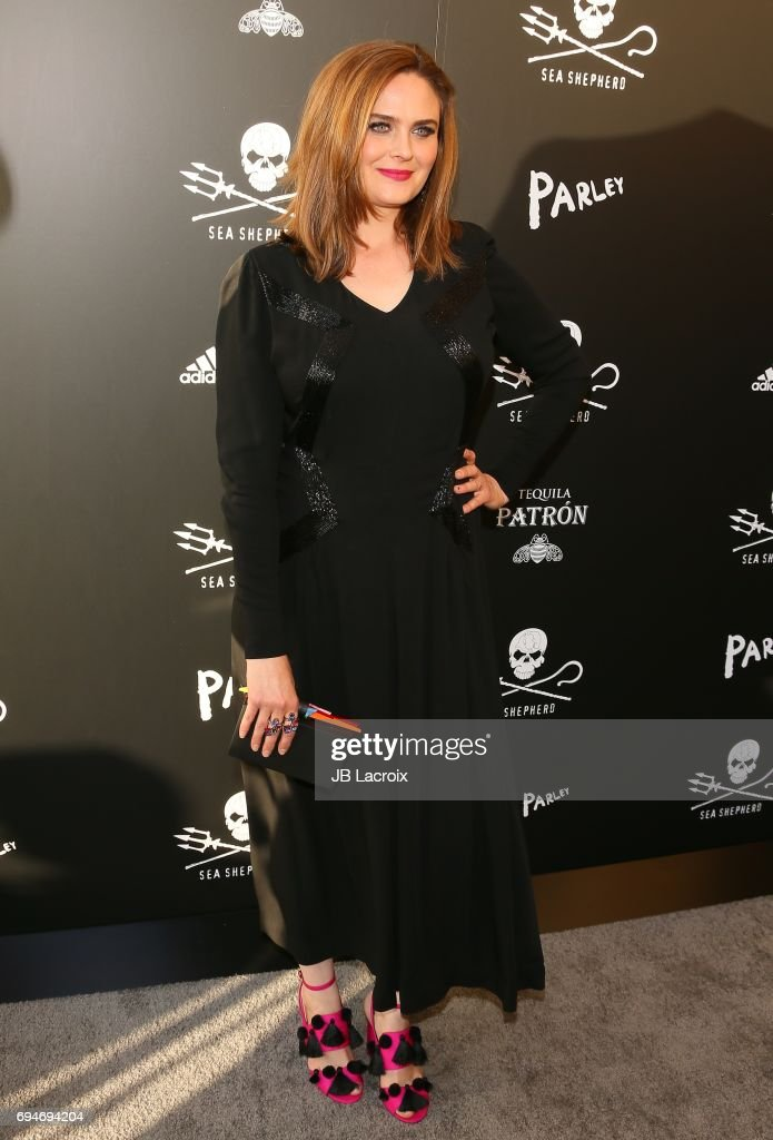 Emily Deschanel attends Shepherd Conservation Society's 40th Anniversary Gala For The Oceans at Montage Beverly Hills on June 10, 2017 in Beverly Hills, California.