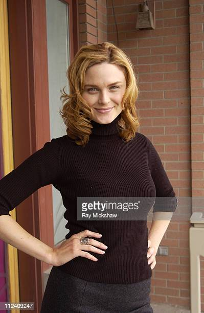 Emily Deschanel during 2004 Park City HP Portrait Studio Hosted by Wireimage at Hp Portrait Studio in Park City Utah United States