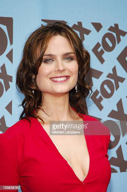 Emily Deschanel during 2005/2006 FOX Prime Time UpFront Arrivals in New York City New York United States