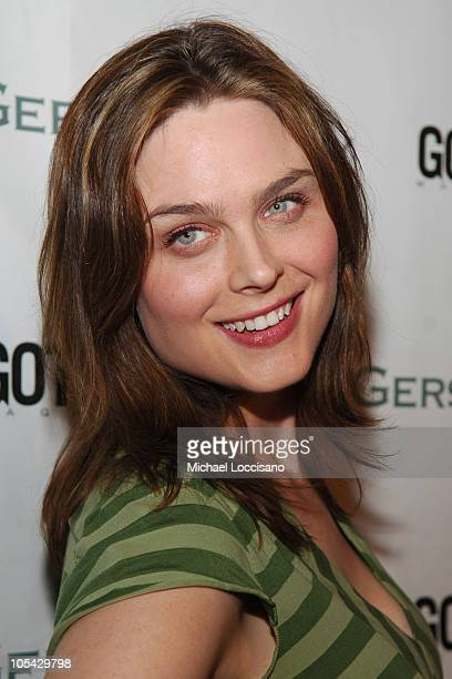 Emily Deschanel during The Gersh Agency Celebrates New York Upfronts with Gotham Magazine at BED in New York City New York United States