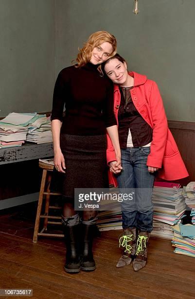 Emily Deschanel Marguerite Moreau during 2004 Sundance Film Festival Easy Portraits at HP Portrait Studio in Park City Utah United States