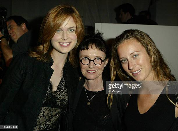 Emily Deschanel Mary Jo Deschanel and Shawna Robertson