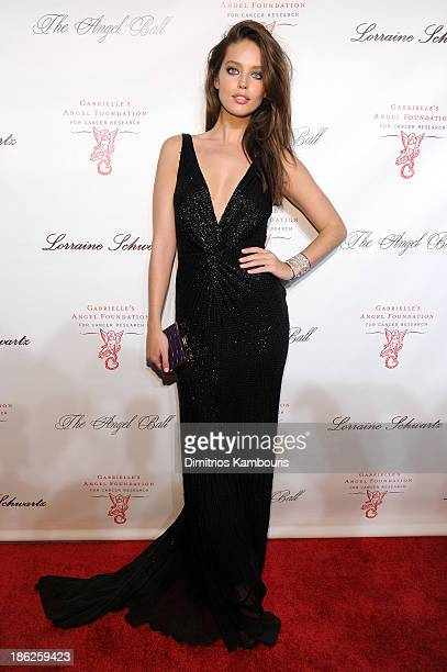 Emily DiDonato attends Gabrielle's Angel Foundation Hosts Angel Ball 2013 at Cipriani Wall Street on October 29 2013 in New York City