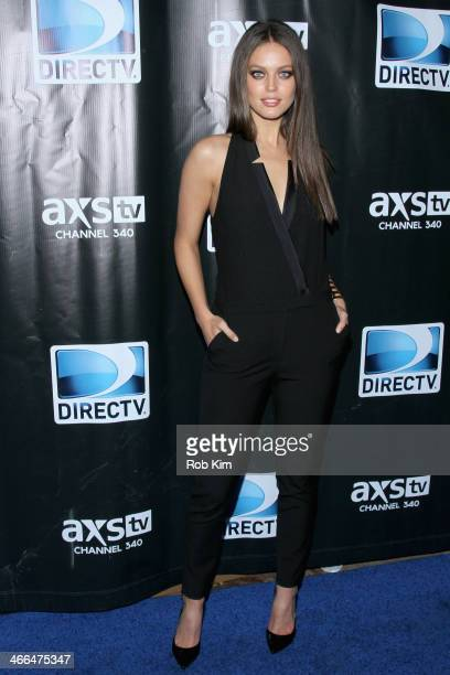 Emily DiDonato attends the DirecTV Super Saturday Night at Pier 40 on February 1 2014 in New York City