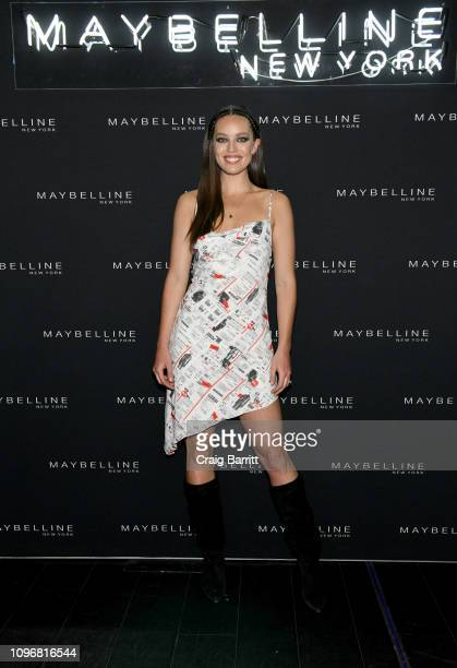 Emily DiDonato attends the Maybelline New York Fashion Week Party on February 10 2019 in New York City