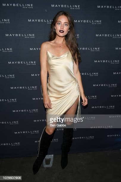 Emily DiDonato attends the Maybelline x New York Fashion Week XIX Party at Mr Purple at the Hotel Indigo LES on September 8 2018 in New York City