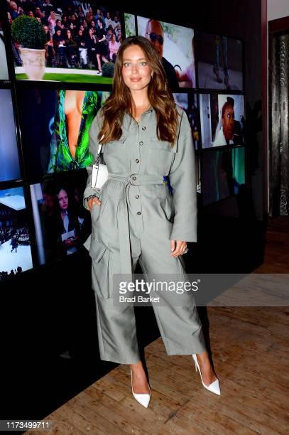 Emily DiDonato celebrates the launch of YouTubecom/Fashion on September 09 2019 in New York City