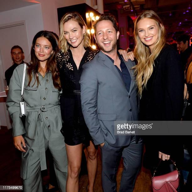 Emily DiDonato Karlie Kloss Derek Blasberg and Romee Strijd celebrate the launch of YouTubecom/Fashion on September 09 2019 in New York City
