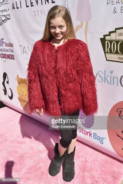Emily Dobson attends BRAVO'S Stripped TV Personality and Celebrity Fashion Stylist Expert Ali Levine's Pink Carpet Baby Shower at Rockwell Table...