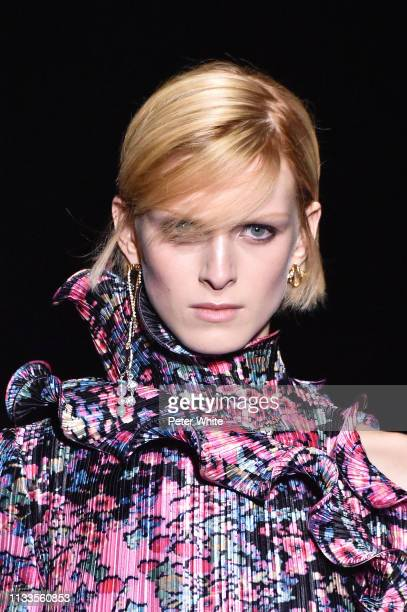 Emily Driver walks the runway during the Givenchy show as part of the Paris Fashion Week Womenswear Fall/Winter 2019/2020 on March 03 2019 in Paris...