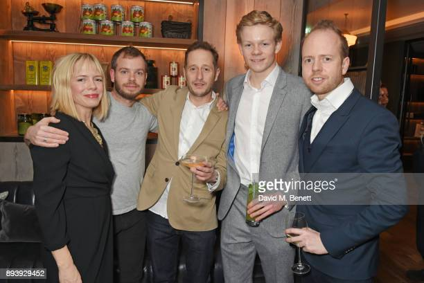 Emily Dundas Harry Dundas Henry Woolley Alexander Dundas and Max Dundas attend Alexander Dundas's 18th birthday party hosted by Lord and Lady Dundas...