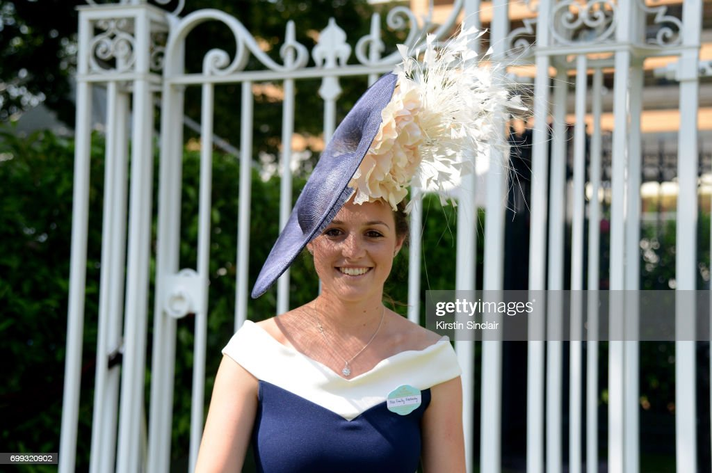 Royal Ascot 2017 - Fashion, Day 2 : News Photo