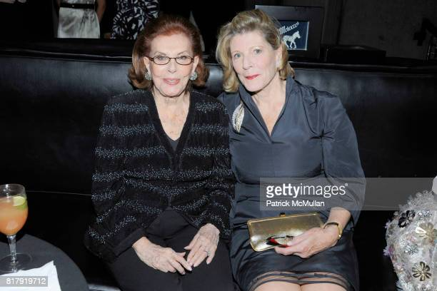 Emily Fisher Landau and Agnes Gund attend WHITNEY MUSEUM hosts 90th Birthday celebration for EMILY FISHER LANDAU at The Whitney on September 27th...