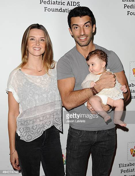 Emily Foxler Justin Baldoni and daughter Maiya Grace Baldoni attend the Elizabeth Glaser Pediatric AIDS Foundation's 26th A Time For Heroes family...