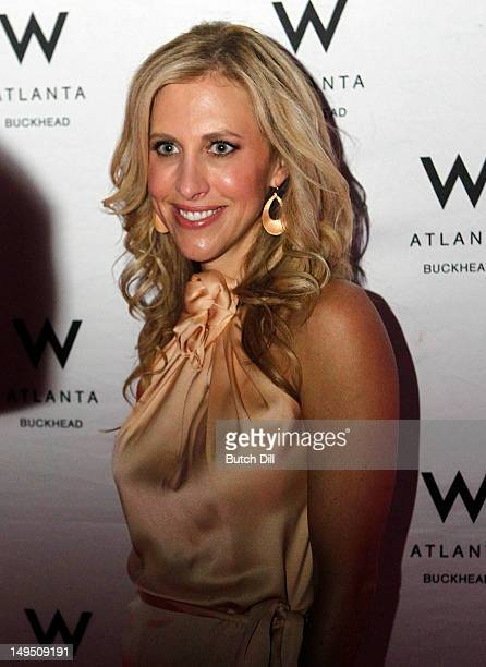 Emily Giffin attends her Where We Belong Book Launch and Cocktail Party at W Atlanta Buckhead on Saturday July 28 2012 in Atlanta Georgia