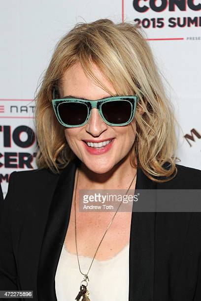 Emily Haines of Metric attends the 2015 Summer Spotlight Concert at Irving Plaza on May 5 2015 in New York City