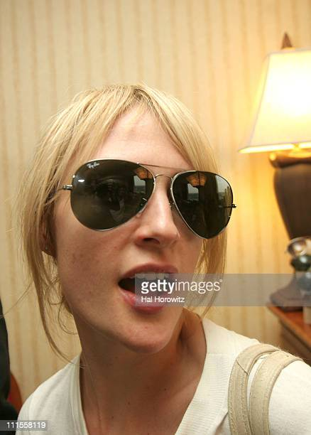 Emily Haines of Metric wearing RayBan sunglasses during 20th Annual SXSW Film and Music Festival Blender Essentials Hospitality Day 2 at Hilton...