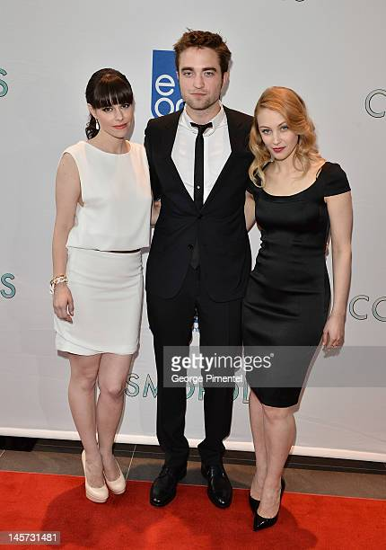 Emily Hampshire Actor Robert Pattinson and Sarah Gadon attends the Toronto Premiere of 'Cosmopolis' at TIFF Bell Lightbox on June 4 2012 in Toronto...