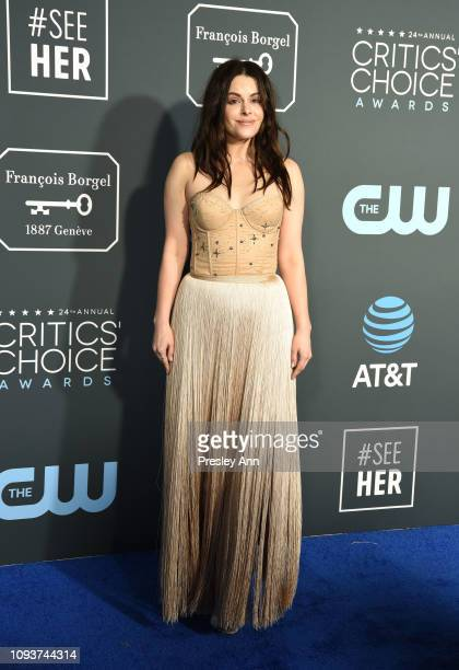 Emily Hampshire at The 24th Annual Critics' Choice Awards at Barker Hangar on January 13 2019 in Santa Monica California