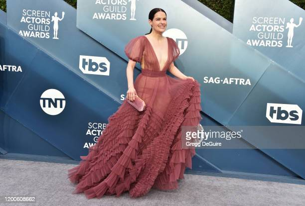 Emily Hampshire attends the 26th Annual Screen ActorsGuild Awards at The Shrine Auditorium on January 19 2020 in Los Angeles California 721430
