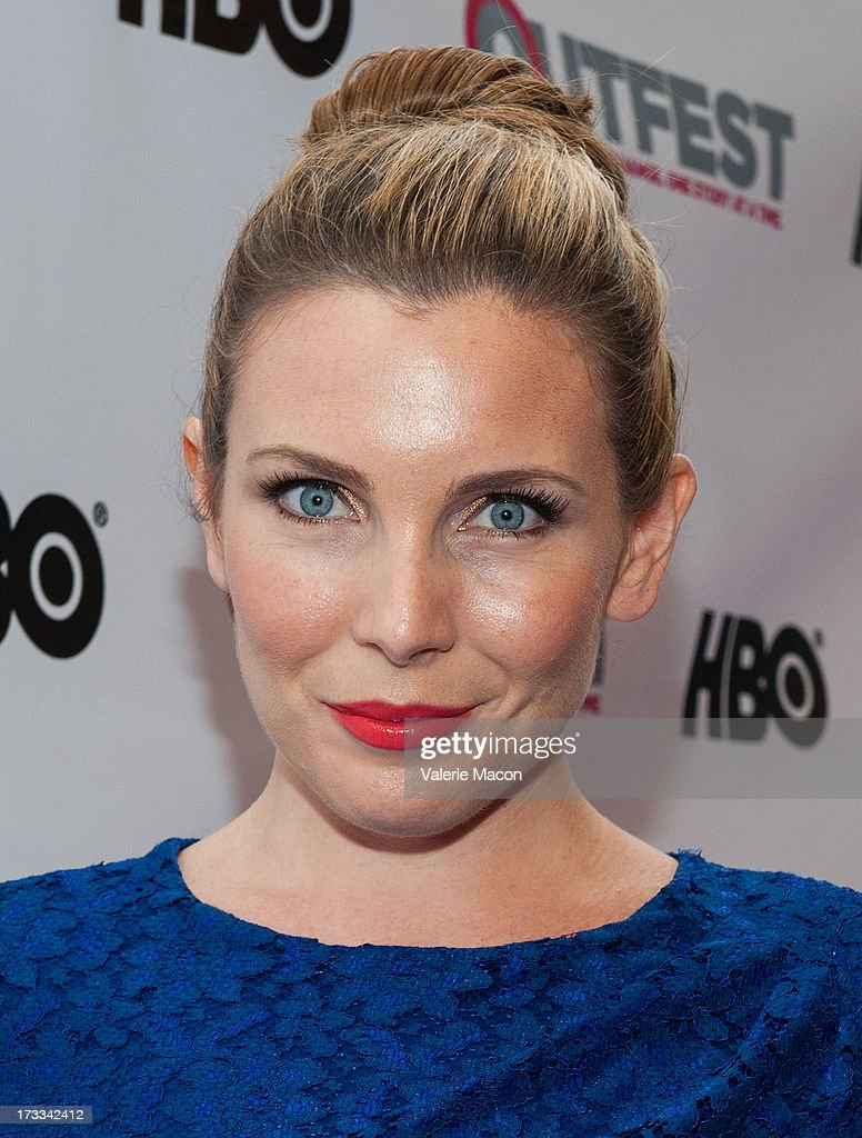 Emily Hamshire attends the 2013 Outfest Opening Night Gala Of 'C.O.G.' - Red Carpet at Orpheum Theatre on July 11, 2013 in Los Angeles, California.