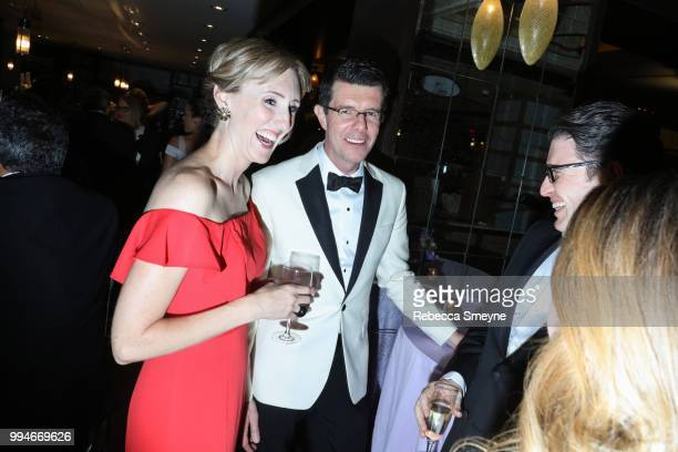 Emily Harvey and Gavin Lee attend the Tony Awards Gala at the Plaza on June 10 2018 in New York New York