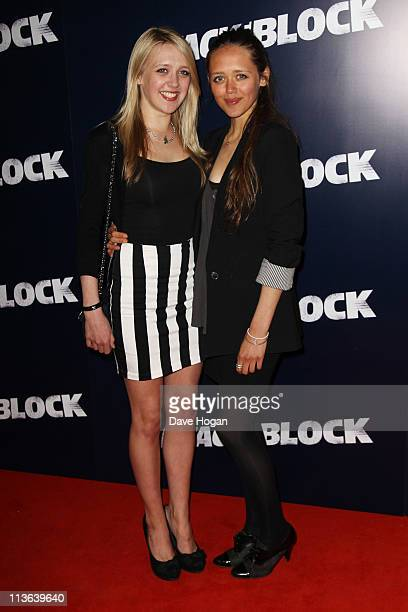 Emily Head and Daisy Head attend the UK premiere of Attack the Block at the Vue Leicester Square on May 4 2011 in London England