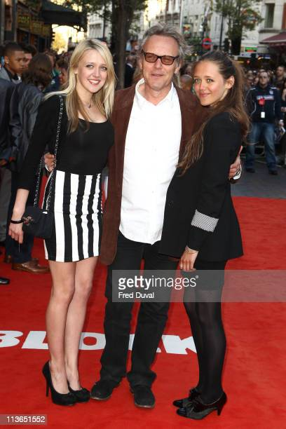 Emily Head Anthony Head and Daisy Head attends the UK premiere of 'Attack The Block' at Vue Leicester Square on May 4 2011 in London England