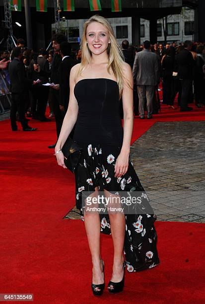 Emily Head attends The Dictator World Premiere on May 10 2012 at the Royal Festival Hall Southbank in London