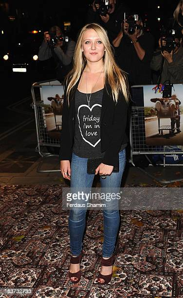 Emily Head attends the gala screening of Jackass Presents Bad Grandpa at Odeon Covent Garden on October 9 2013 in London England