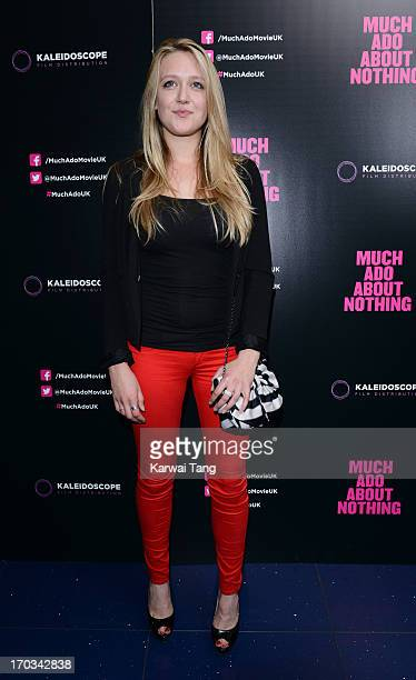 Emily Head attends the gala screening of 'Much Ado About Nothing' at Apollo Piccadilly Circus on June 11 2013 in London England