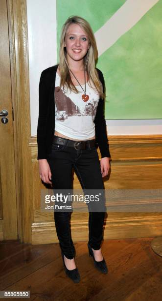 Emily Head attends the VIP screening of 'I love You Man' at Soho Hotel on April 8 2009 in London England