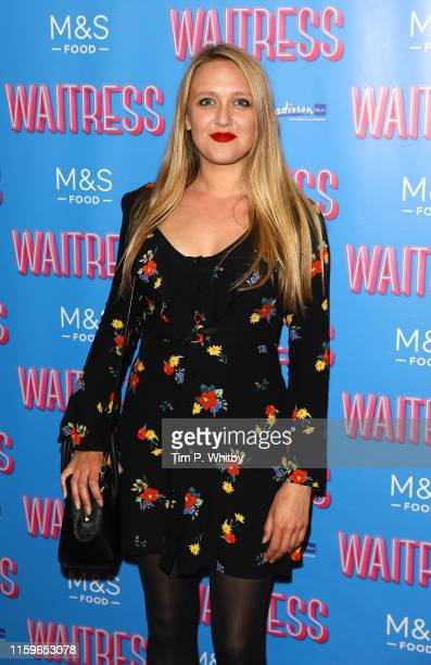 Emily Head attends the Waitress media night at Adelphi Theatre on July 02 2019 in London England