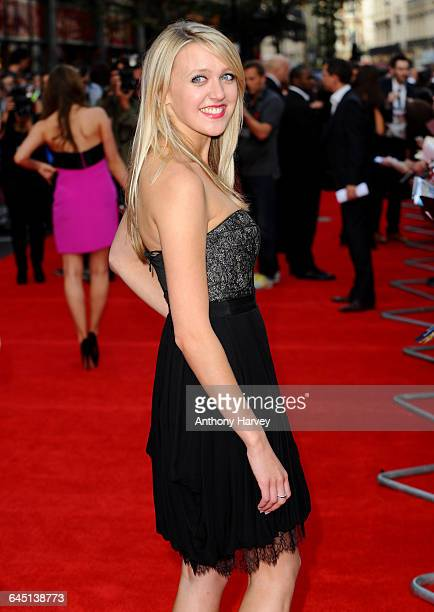 Emily Head attends the world film premiere of The Inbetweeners Movie at Vue West End on August 16 2011 in London